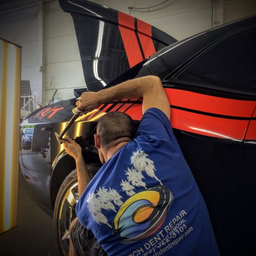Mobile paintless dent repair Laguna Niguel